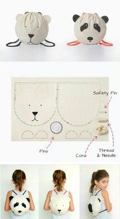 DIY and DIY crafts around the fabric DIY projects DIY clothes from … Sewing Tutorials, Sewing Crafts, Sewing Projects, Sewing Patterns, Diy Crafts, Diy Projects, Fabric Crafts, Sewing Ideas, Sewing For Kids
