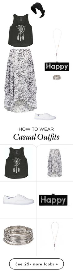 """""""Casual 14"""" by bondril on Polyvore featuring Billabong, Forever New, Aqua, RED Valentino, Edie Parker, women's clothing, women's fashion, women, female and woman"""