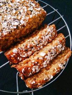 Banana Oats Loaf Cake / Whole Wheat Banana Oats Cake / Eggless Banana Oats Cake – At My Kitchen Eggless Recipes, Eggless Baking, Healthy Cake Recipes, Delicious Cake Recipes, Homemade Cake Recipes, Yummy Cakes, Eggless Desserts, Microwave Recipes, Oven Recipes