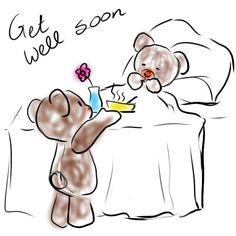 Crochet Stuff Bears Get Well Soon Sick Teddy Bear Sketch Get Well Soon Images, Get Well Soon Funny, Get Well Soon Messages, Get Well Soon Quotes, Get Well Wishes, Get Well Cards, Teddy Bear Sketch, Teddy Bear Cartoon, Feeling Sick