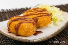 Korokke (Traditional Japanese Beef Croquette) by Bebe Love Okazu #japanesefood
