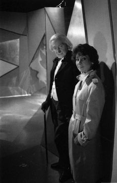 Richard Hurndall takes on the role of The First Doctor alongside Carole Ann Ford reprising her role of Susan for 'The Five Doctors', 1983.