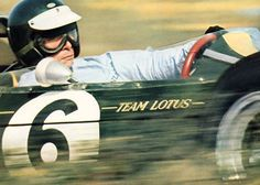 Jim Clark - At speed and in control. Perhaps the greatest of all time.