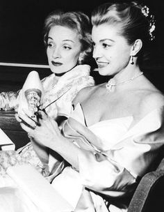 Marlene Dietrich With Esther Williams