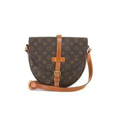 Louis Vuitton Monogram Canvas Chantilly GM Crossbody Bag found on Polyvore