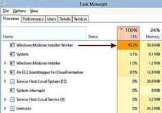 Is a Windows Modules installer worker process unresponsive? Causing high disk usage in Windows 8 and Step by step solution! Management, Names, Windows, Blog, Blogging, Ramen, Window