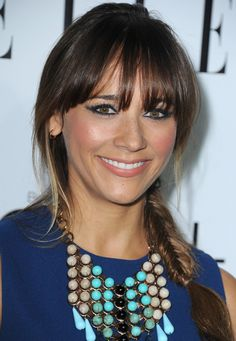 Rashida Jones: Harvard graduate, actress, comic book author, screenwriter and occasional singer.