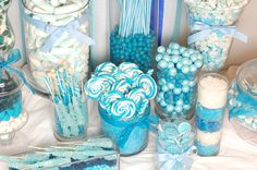 Beautifully Blue Candy Buffet Bazaar | Candy Galaxy