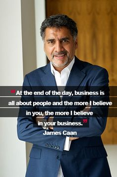 James Caan may be a dragon, but he's not scary. In fact, he's shared his business secrets with us. Take a look on our site and then share your #MyBigIdea with us. #Enterprise #Business
