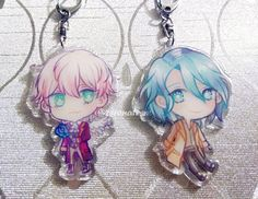 Saeran and V     Mystic Messenger: Another Story Charms