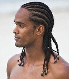 "naturalhair braids beads styleformen  ""men natural"