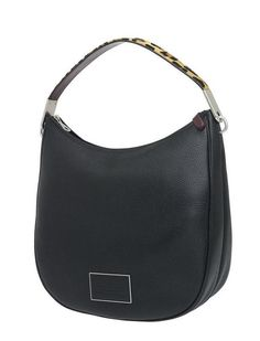 The Marc by Marc Jacobs Ligero Leopard Hobo features a textured haircalf top handle in a a contrasting leopard print.