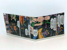 Comic Book Wallet// Thanos and Moondragon, $4.00