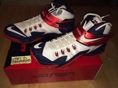 sports shoes 47e1a 9038c Lebron Zoom Soldier 8 Size 11.5 Authentic DS Nike  Nike  BasketballShoes