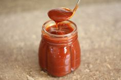 Barefeet In The Kitchen: Homemade Spicy Barbecue Sauce