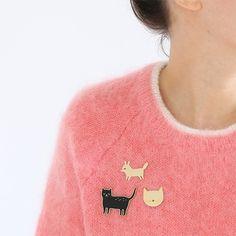 Pin's Audrey Jeanne http://pastelshop.fr/shop/pins-guepard-audrey-jeanne/
