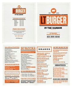 c88a9a2a30d4 Food menu print-layout-and-typography Restaurant Menu Design