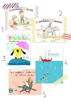 Sélection de livres enfants Lisa pour Lait Fraise