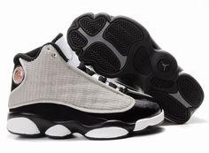 030667795c66 Cheap Air Jordans 13 Kids Shoes In White Black Grey