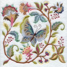 Machine Embroidery Designs at Embroidery Library! - Color Change - X0535. Love the colors used her.