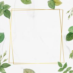 Square gold frame with foliage pattern background vector | premium image by rawpixel.com / marinemynt Yoga Background, Black Abstract Background, Flower Background Wallpaper, Flower Backgrounds, Background Templates, Background Patterns, Logo Online Shop, Boarder Designs, Photo Frame Design