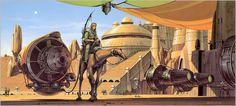 Doug Chiang Star Wars Star Wars: The Phantom Menace Sun artwork