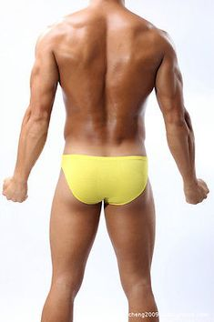 0cfe2a137b358 New Comfy Mens Classic Wear Underwear Bikini Briefs Bulge Pouch Underpants  B13