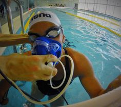Portuguese paralympic swimmers tested with K4b2 at LABIOMEP Porto Biomechanics Laboratory