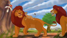 Pop-Pop's Day Care by on DeviantArt Lion King Timon, Simba And Nala, Disney Lion King, Le Roi Lion Film, Lion King Fan Art, King Art, Lion King Pictures, Disney Pictures, Disney And Dreamworks