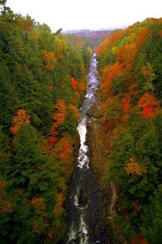 Quechee Gorge in Quechee, Vermont