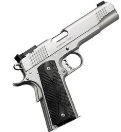 Stainless Target II comes in 38 super and 9mm....$1100. THE ONE