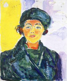 'Ebba Ridderstad', Edvard Munch, 1935