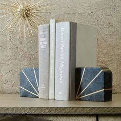 Stone Bookend - Gray Marble | west elm