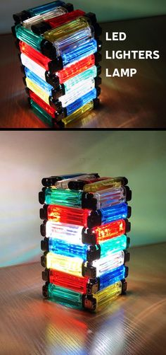 Don't throw away old lighters — make a lamp!