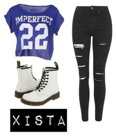"""""""Xista"""" by ka-vip on Polyvore featuring !M?ERFECT, Topshop and Dr. Martens"""