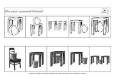 die 43 besten bilder von raum lage preschool perception und activities. Black Bedroom Furniture Sets. Home Design Ideas
