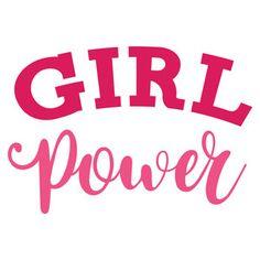 Silhouette Design Store: girl power