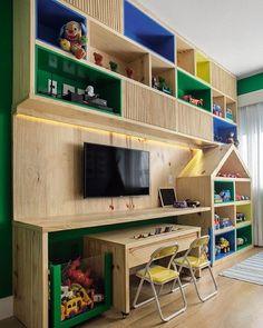 WEBSTA @ codecorarpetite - ✨INSPIRAÇÃO✨ Que tal solucionar o armazenamento de brinquedos com uma parede assim?  #codecorarpetite #decor #decoração #projeto #interiores #instadecor #referência #gravidas #primeirofilho #inspiração #ideias #quartodebebê #quartoinfantil #quartokids #casafeliz