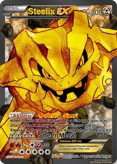 Steelix EX full art by HyperbolicKnight on DeviantArt - Pokemon