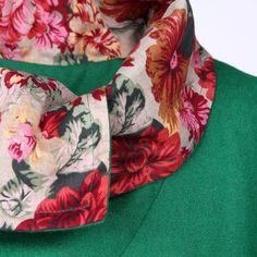 Асимметричное пальто комбинированной расцветки с высоким воротником 24120002 купить за 7650 руб. с доставкой по России, Украине, Беларуси и миру   Пальто   Интернет-магазин одежды Liebo