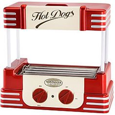 @Overstock - Bring back the retro style with a hot dog roller  Specialty appliance by Nostalgia Electrics features a fun retro design in red and white  Hot dog roller will keep hot dogs uniformly warmhttp://www.overstock.com/Home-Garden/Nostalgia-Electrics-Retro-Series-Hot-Dog-Roller/3206006/product.html?CID=214117 $45.93