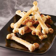 Salty Bones Halloween Snack