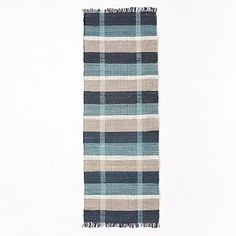 Inspired By Mid Century Color Palettes, Our Rustic Cotton Plaid Rug Is  Handwoven From Cotton Chindi Fabric. Chindi Is A Term In India For Apparel  Fabric ...