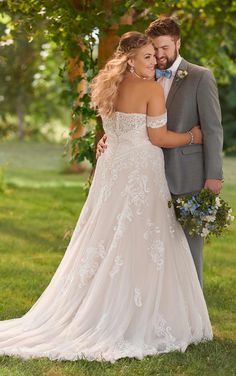 Essense of Australia Wedding Dresses - Search our photo gallery for pictures of wedding dresses by Essense of Australia. Find the perfect dress with recent Essense of Australia photos. Emerald Green Wedding Dress, Green Wedding Dresses, Wedding Dresses With Straps, Wedding Dresses Plus Size, Elegant Wedding Dress, Plus Size Wedding, Lace Wedding, Backless Wedding, Mermaid Wedding