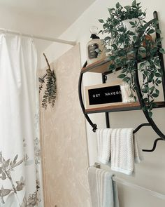 Fresh eucalyptus and an organized bathroom shelf are the perfect combo for a relaxing shower. Tap the photo to shop new wall organization! Eucalyptus Shower, Kirkland Home Decor, Wall Organization, Shower Heads, Wall Shelves, Shelf, Wood And Metal, The Fresh, Wall Art Decor