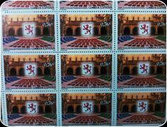 #Sello #León, cuna del parlamentarismo. conmemora las Cortes celebradas en la Basílica de San Isidoro de Léon en 1188, convocadas por el rey Alfonso IX, en la que el pueblo pudo participar por primera vez en la decisión de asuntos públicos.