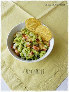 In my little kitchen: Guacamole