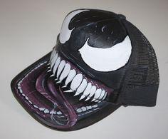 Gorra personalizada - cap custom - Venom Marvel