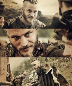 Travis Fimmel screen caps from Vikings