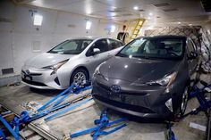 Toyota is going to officially reveal the all-new fourth-generation 2016 Toyota Prius next week at an event in Las Vegas, but thanks to an early leak we now have our first peek at the new Prius. Heavily influenced by the Mirai fuel-cell vehicle, the all-new Prius aims to regain some of the market share that it has lost in the last few years with an all-new platform and an even more efficient powertrain.  Get your next Toyota at Glockner Automotive!   We make it easy!     #glockner